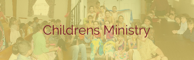 Childrens Ministry Banner
